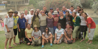 An end-of-program picture with all the Kibbutz Ulpan Dati participants